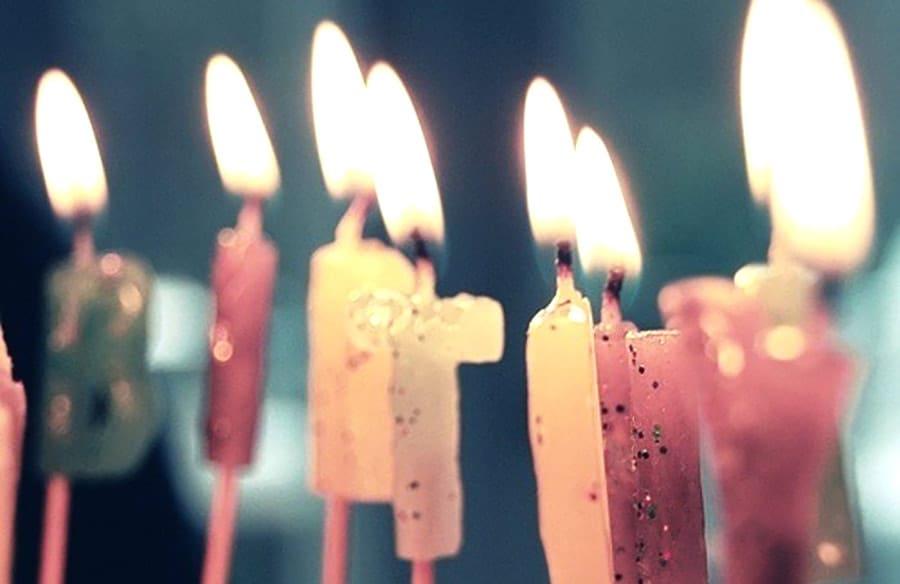 Birthday Candles Skin Renu