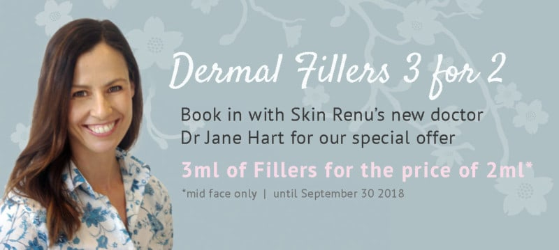 special offer dermal fillers skin renu sydney