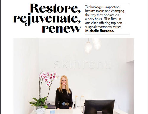 Professional Beauty Magazine talks to Skin Renu's Sylvia Down