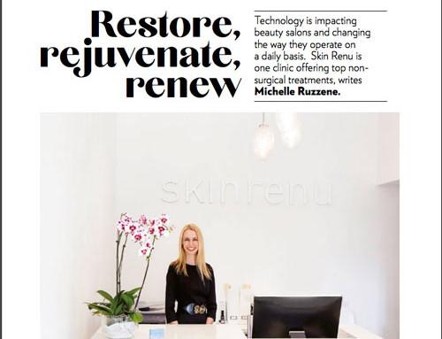 Professional Beauty Magazine talks to Skin Renu's Sylvia Down
