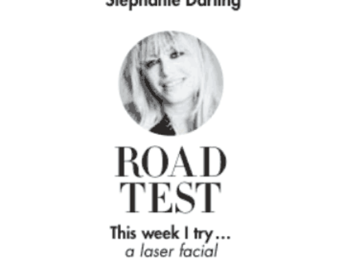 Stephanie Darling road tests Laser Genesis at Skin Renu